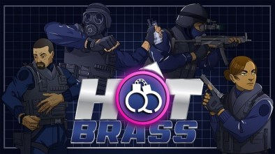 Hot Brass logo and artwork