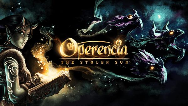 Operencia logo and artwork