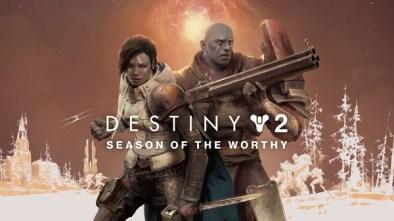 Destiny 2: Season of the Worthy Logo