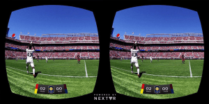 Sports Betting in Virtual Reality allows you to watch what is going on as if you were at the game