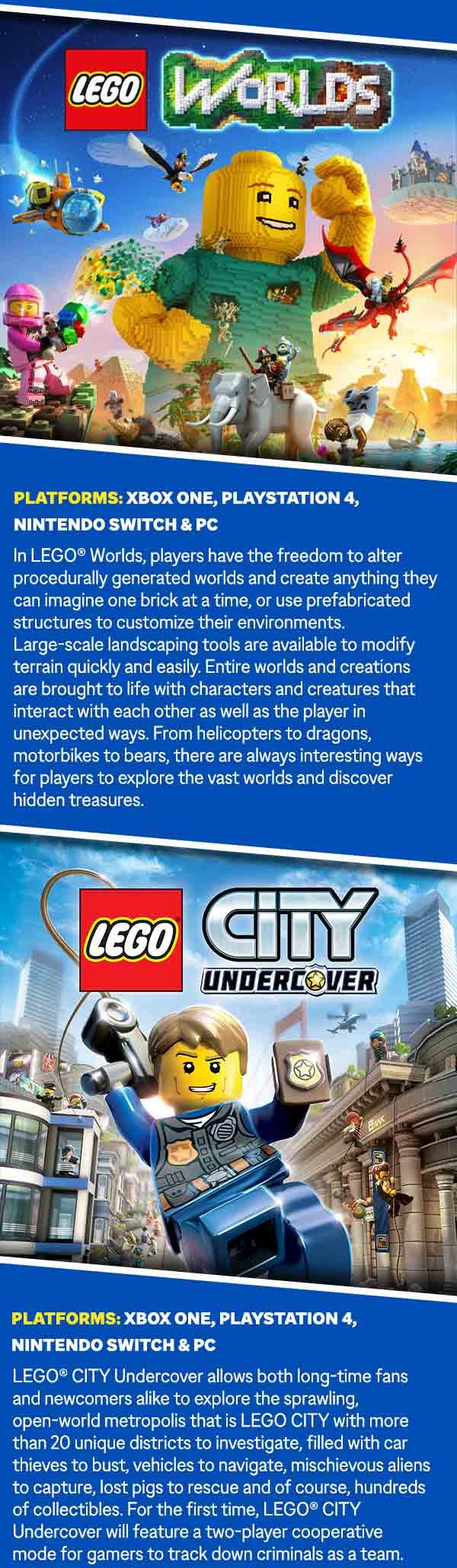 City Undercover LEGO Artwork