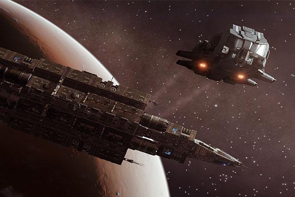 Elite: Dangerous Fleet Carriers
