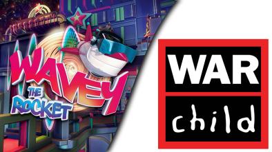 Wavey thye Rocket and Warchild UK logos