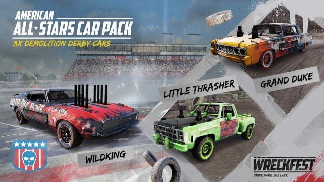 Wreckfest American All Stars Car Pack image