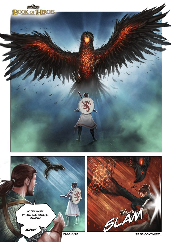 The Dark Eye: Book of Heroes Comic Page #8