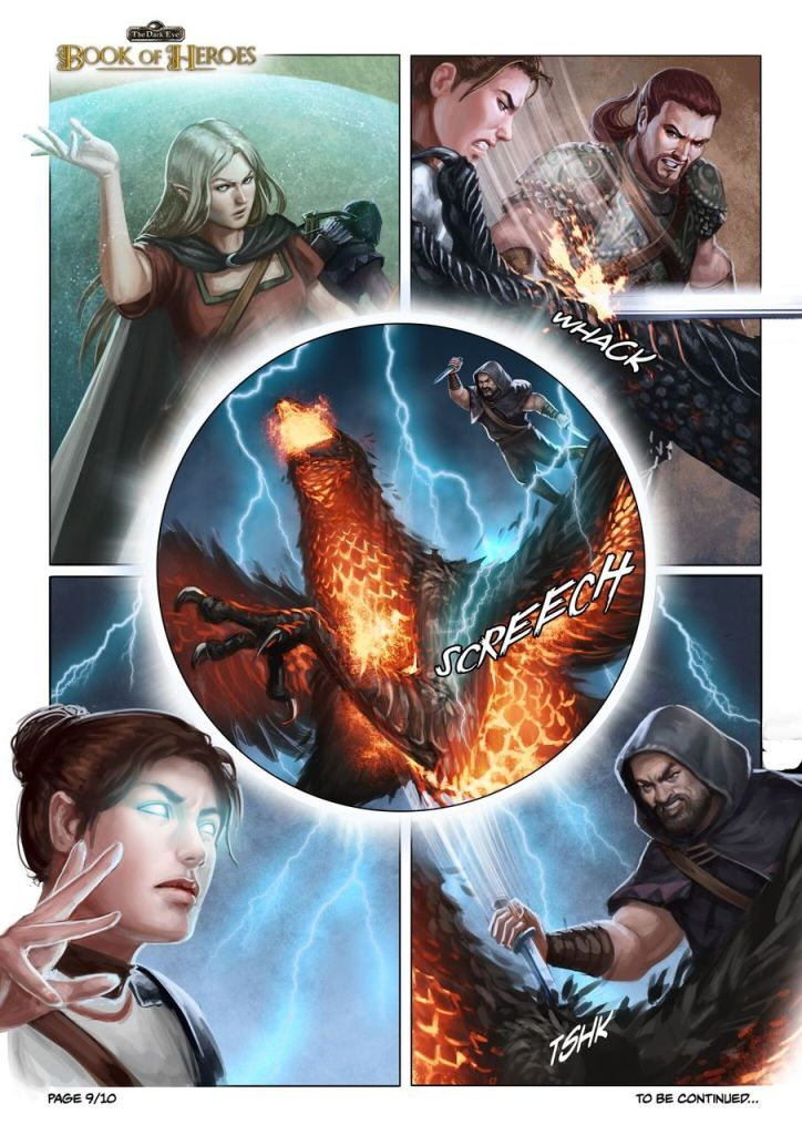 The Dark Eye Comic Page 9