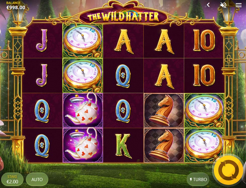 Video Slots - The Wild hatter