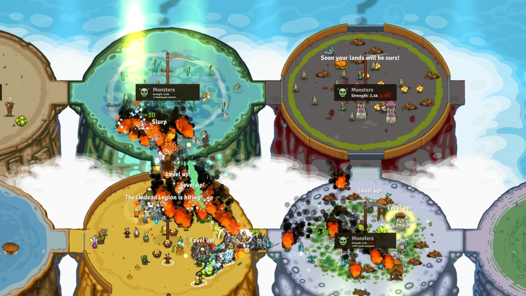 Circle Empires Rivals Forces of Nature gameplay