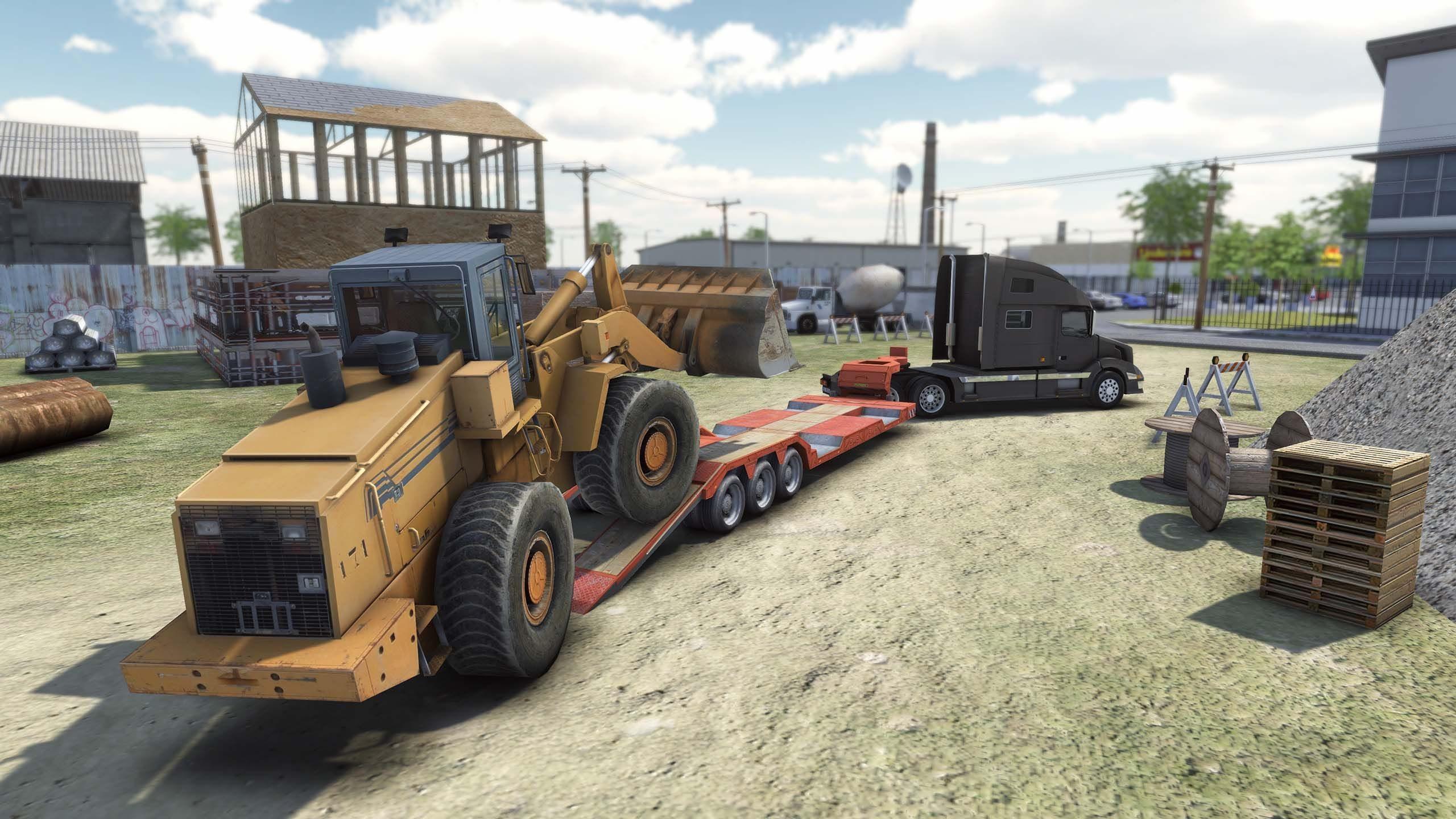 Truck & Logistics Simulator Artwork