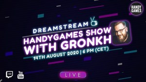 HandyGames with Gronkh LIVE! header