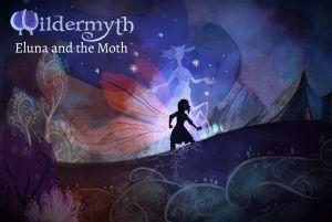 Wildermyth Eluna and the Moth logo and artwork