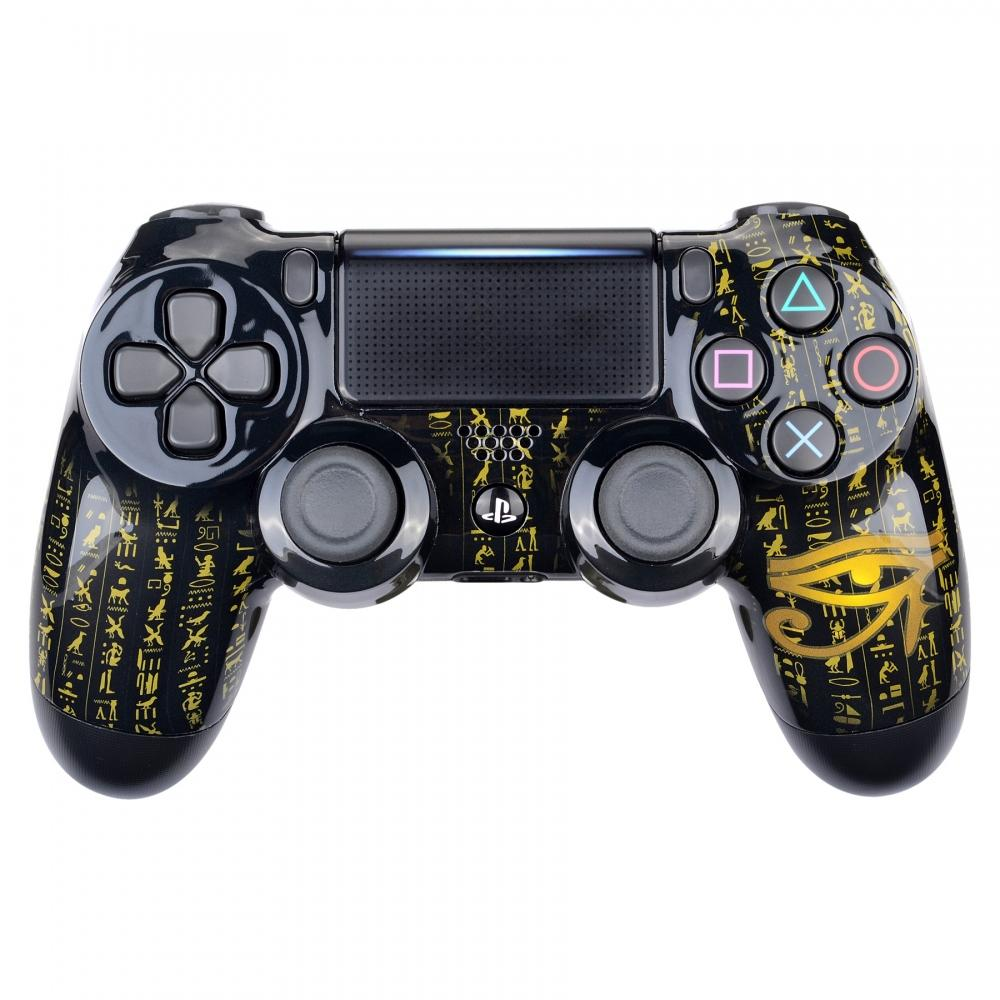 eXtremerate PS4 Controller Casing wth Egyptian design