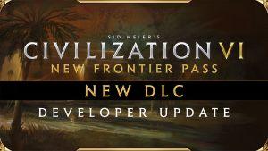 Civilization VI - New Frontier Pass - DLC Hammurabi of Babylon Pack 4 Dev Update logo