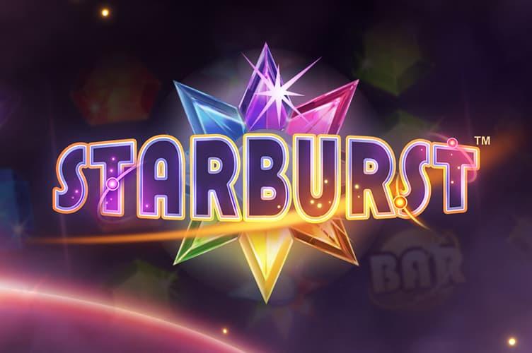 Starburst video slots game logo