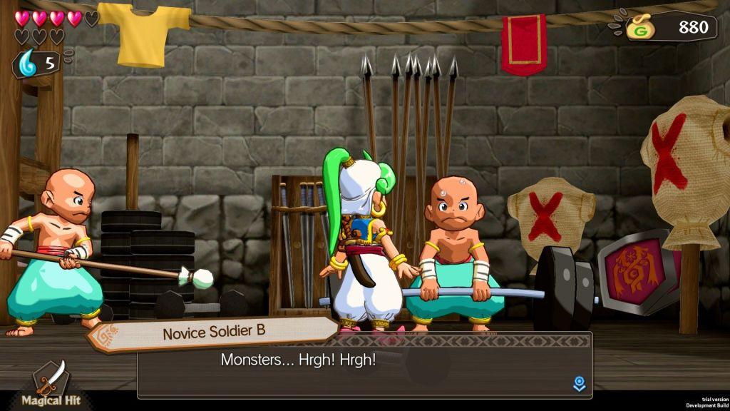 Wonder Boy Asha in Monster World screenshot