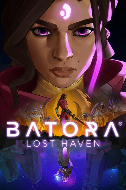 Batora: Lost Haven logo and artwork