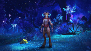 Unknown Game showing half man, half goat character
