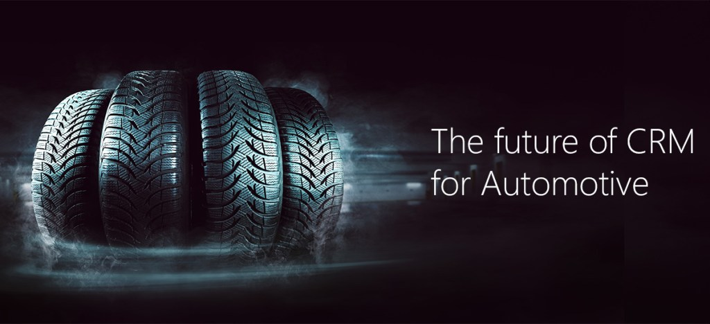 Tires promoting the future of Automotive CRM