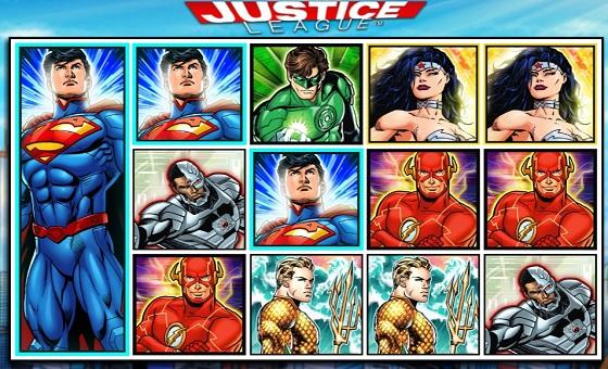 Justice League Slot Game Reels