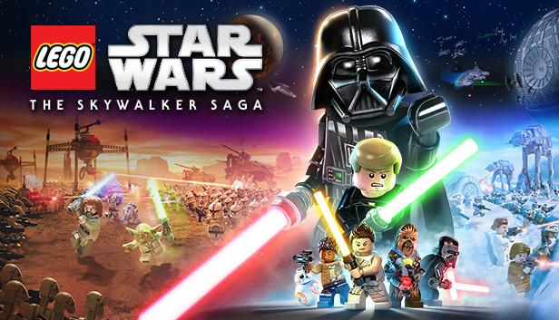 Lego Star Wars The Skywalker Saga logo