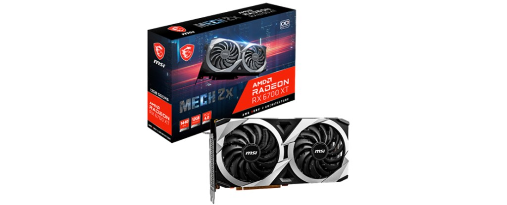 MSI Radeon RX 6700 XT Mech Series