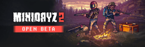 Mini DayZ 2 Open Beta logo