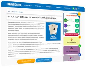Netti-casino website Blackjack
