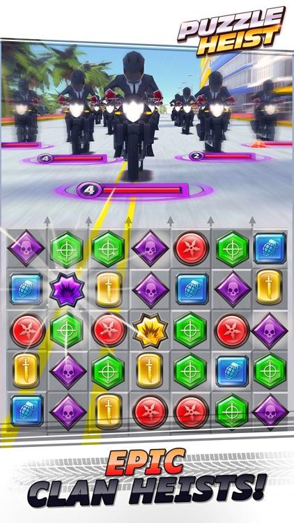 Puzzle Heist Match 3 gameplay