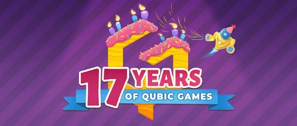 17 years of QubicGames text