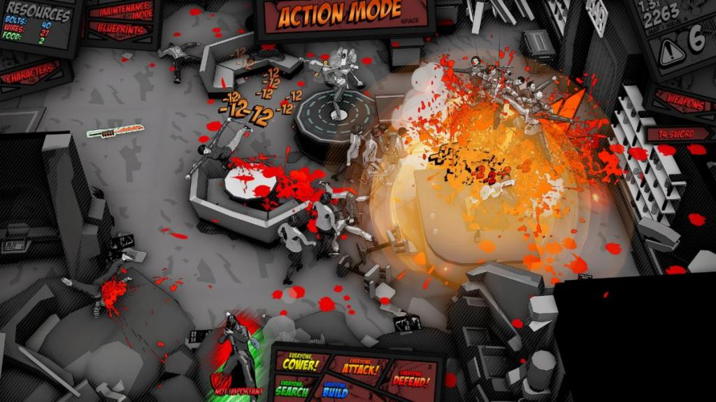 Space Raiders in Space combat gameplay
