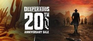 Desperados 20th Anniversary banner