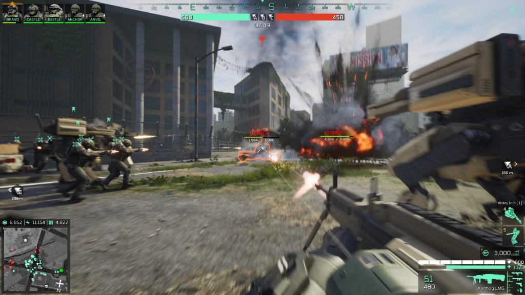 Eximius: Seize the Frontline FPS Combat