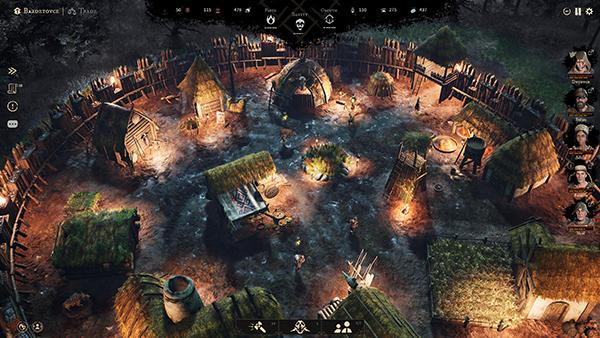 Gord settlement screenshot from gameplay