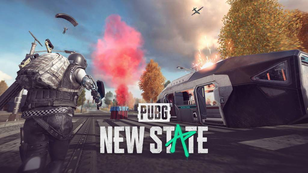 PUBG New State logo and artwork