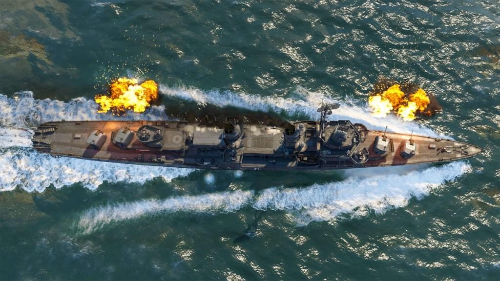 War Thunder Battleship from the Future Technology event