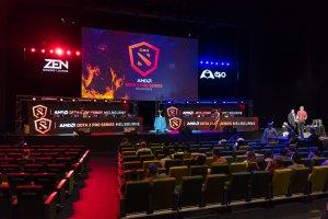 Esports Stage for DoTA 2 Pro Series Melbourne