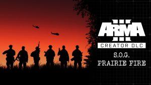 Arma 3 Creator DLC S.O.G. Prairie Fire logo