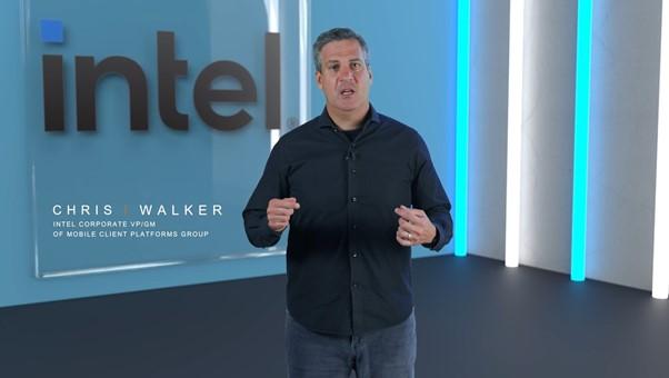 Chris Walker, Intel Corporate VP/GM of Mobile Client Platforms Group