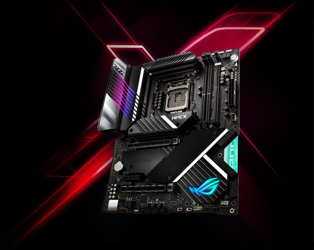 ROG Maximus XIII Apex motherboard from ASUS ROG