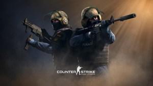 CS:GO logo and artwork