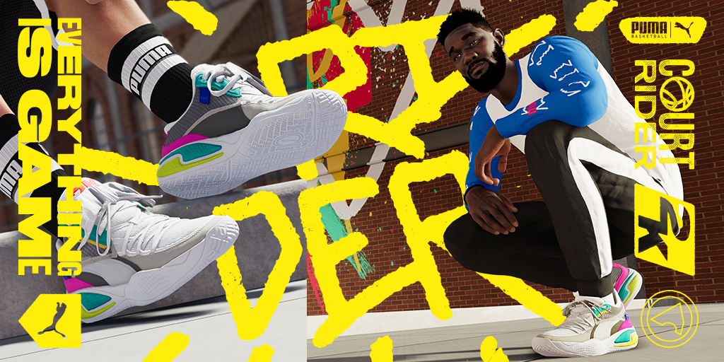 PUMA x 2K Collection Arrives in NBA 2K21