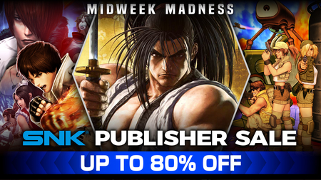 SNK Publisher Sale with 80% off games such as Samurai Shodown