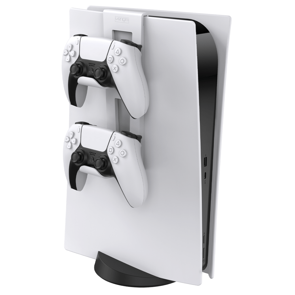 Venom PS5 Controller Rack with controllers
