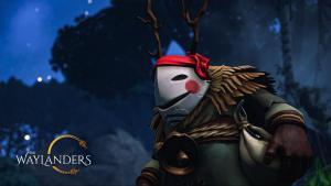 The Waylanders logo and artwork
