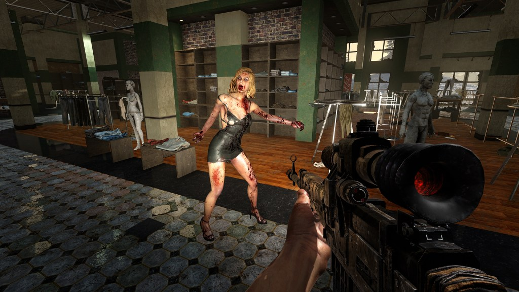 7 Days to Die stripper zombie