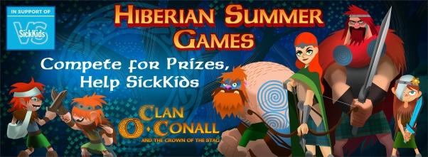 SickKids Hibernian Summer Games in Clan O'Conall