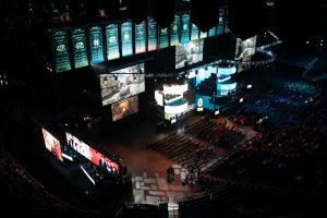 Esports arena set up, following legalistation of esports betting in New Jersey