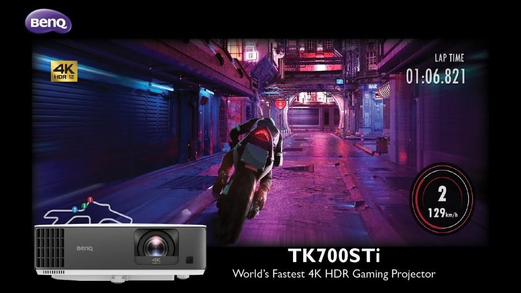 Gaming on the BenQ TK700STi