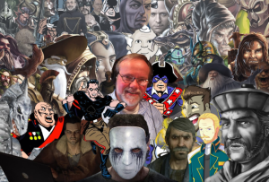 George Ledoux - Voice Actor surrounded by his many characters