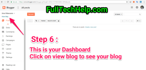 Step by Step guide to start a free blog in Blogger